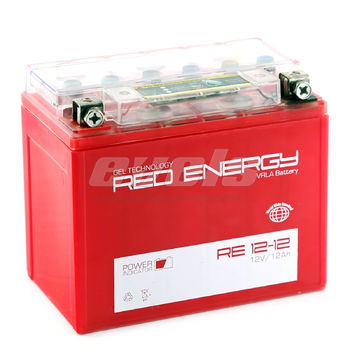 Red Energy RE12-12 (YTX12-BS 12 А/ч) зал.